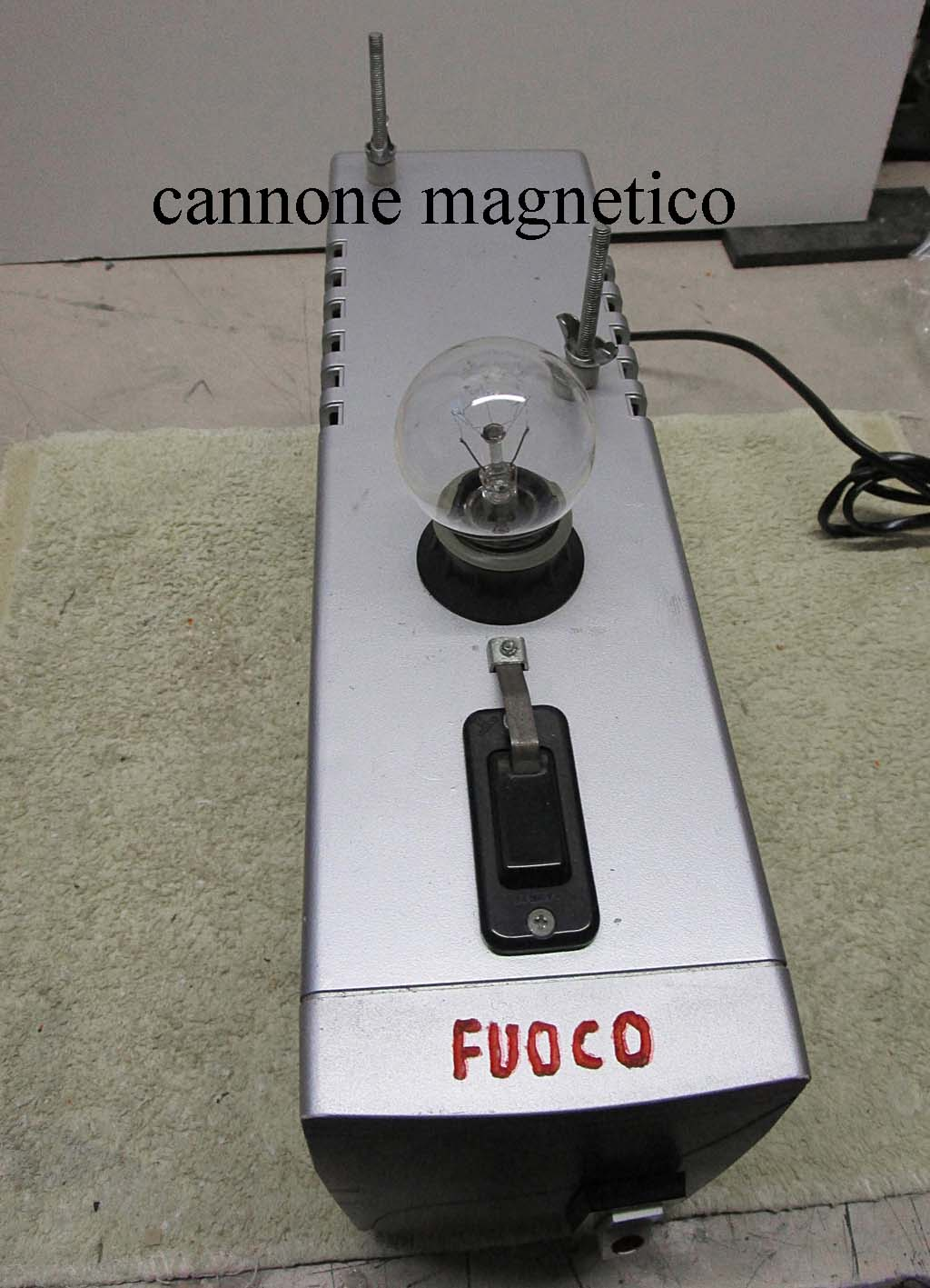 cannone magnetico